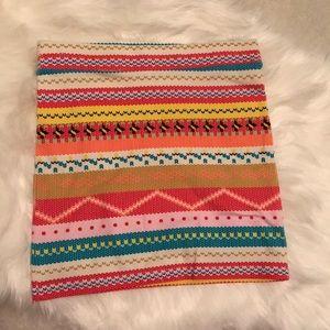 Fun Colorful Stretchy Mini Skirt